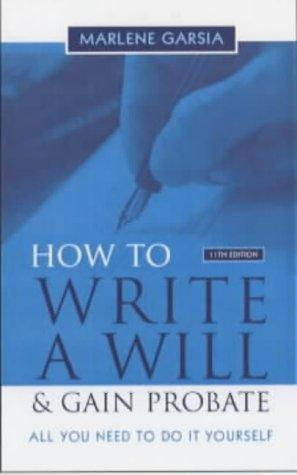 Download How to Write a Will and Gain Probate