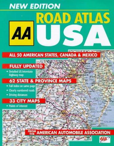 Big Road Atlas USA, Canada and Mexico by Automobile Association (Great Britain)