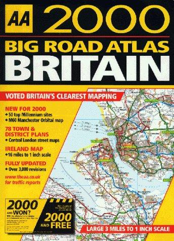 Big Road Atlas Britain (AA Atlases)