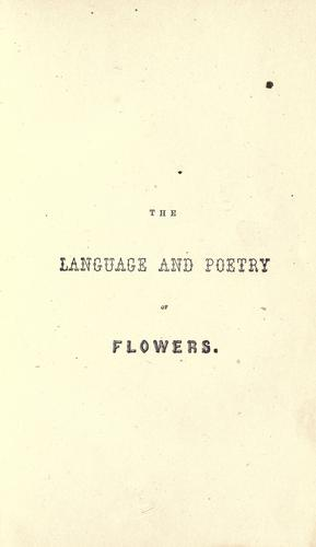 Download The language and poetry of flowers