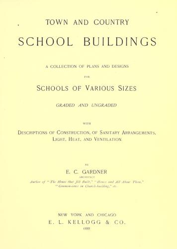 Download Town and country school buildings