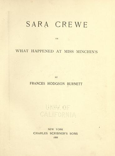 Download Sara Crewe