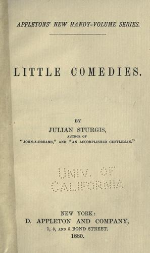 Little comedies …