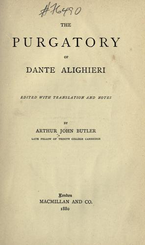 The Purgatory of Dante Alighieri