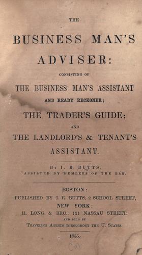 The business man's adviser