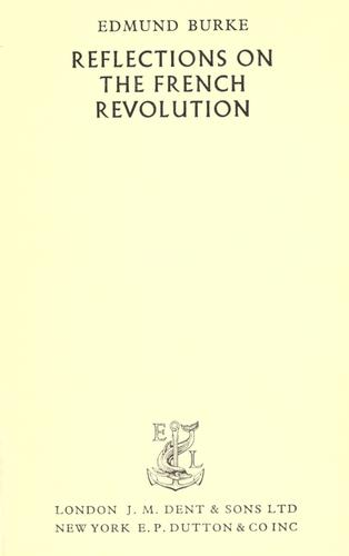 Download Reflections on the French Revolution & other essays.