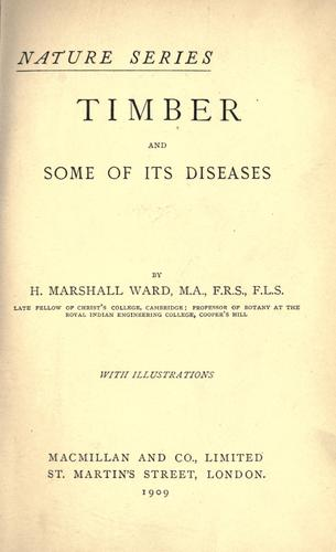 Download Timber and some of its diseases.