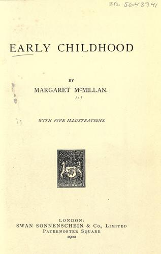 Download Early childhood