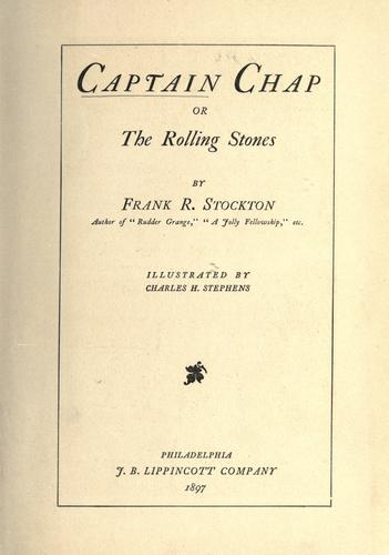 Download Captain Chap, or, The rolling stones