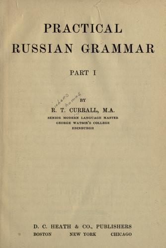 Practical Russian grammar.
