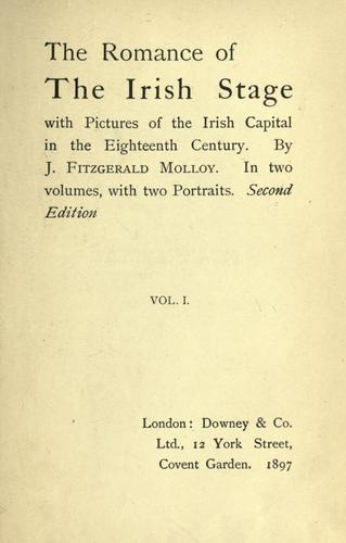 The romance of the Irish stage.
