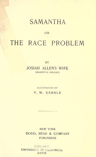 Download Samantha on the race problem