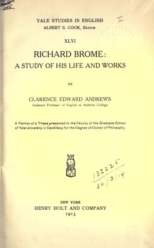 Download Richard Brome