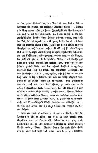 Goethe's musicalisches Leben