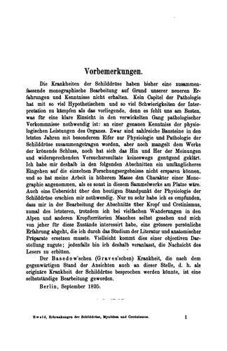 Spezielle Pathologie und Therapie. v. 24 pt. 1 | 2nd ed., 1908