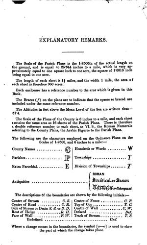 Download Book of Reference to the Plan of the Parish of …