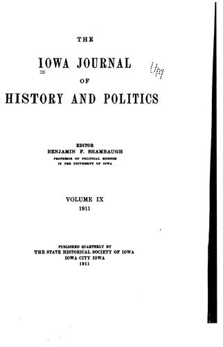 Download Iowa Journal of History