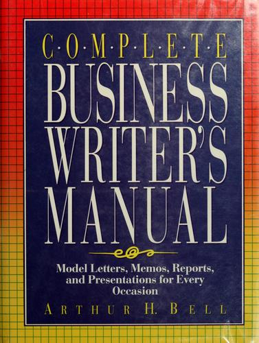 Download Complete business writer's manual