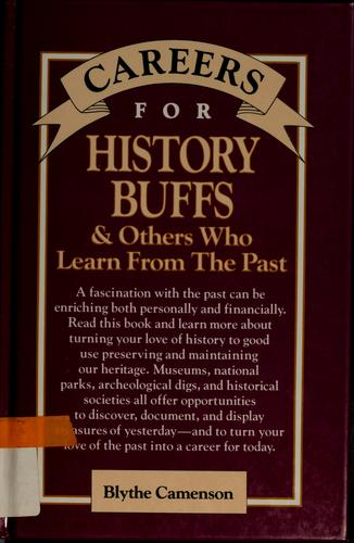 Download Careers for history buffs and others who learn from the past