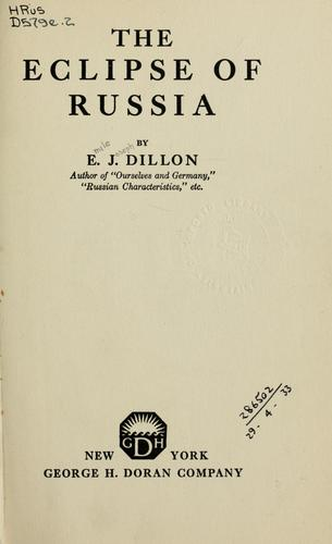 Download The eclipse of Russia