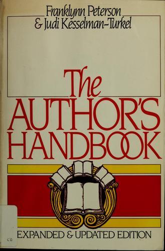 The author's handbook