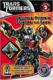 Optimus Prime's Friends and Foes