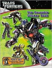 Transformers: Dark of the Moon The Reusable Sticker Book