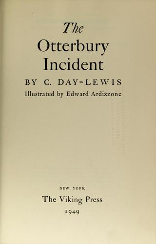 Download The Otterbury Incident