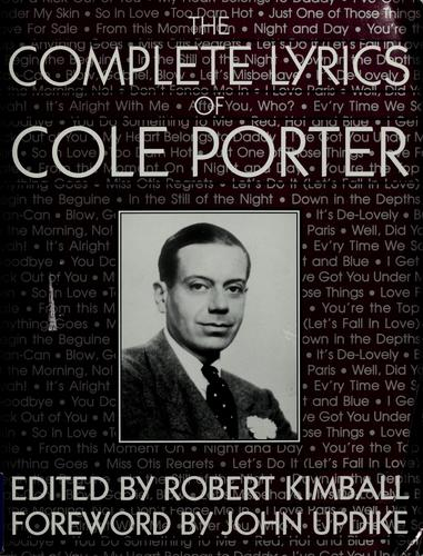 Download The complete lyrics of Cole Porter
