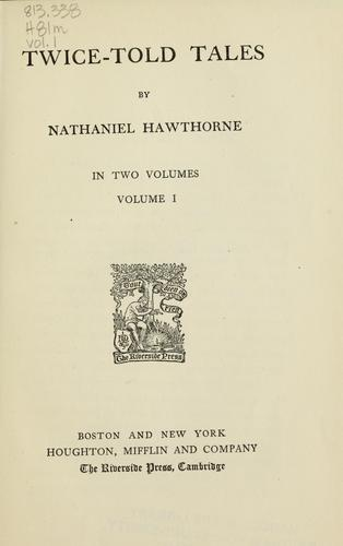 Download The complete writings of Nathaniel Hawthorne