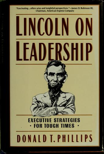Download Lincoln on leadership