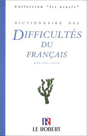 Download Dictionnaire des difficultés du français
