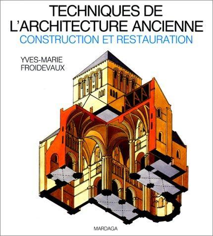 Techniques de l'architecture ancienne