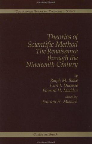 Theories of scientific method