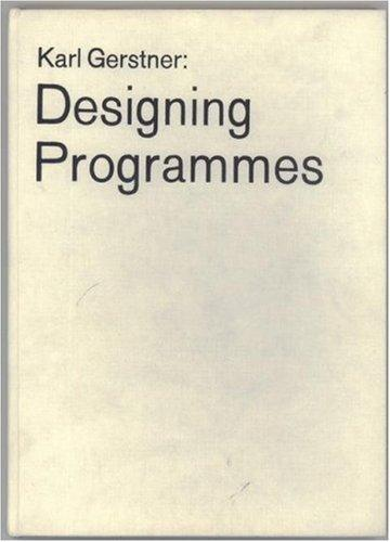 Download Designing Programmes