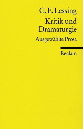 Download Kritik und Dramaturgie