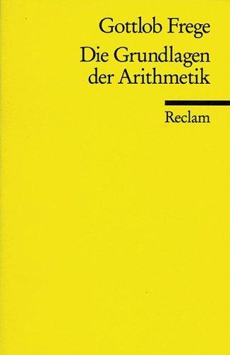 Die Grundlagen der Arithmetik.
