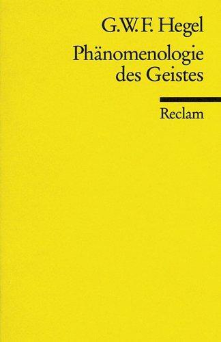 Download Phanomenologie Des Geistes