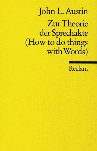 Download Zur Theorie der Sprechakte