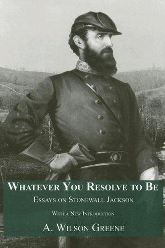 Whatever You Resolve To Be