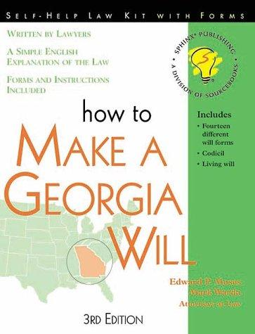 Download How to make a Georgia will