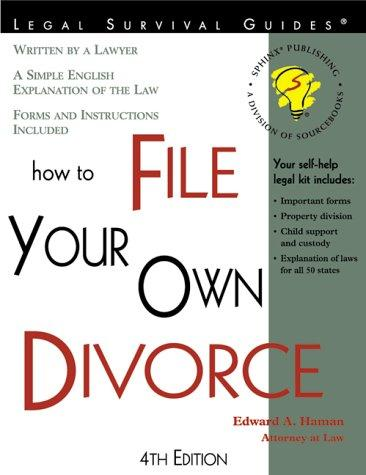 Download How to File Your Own Divorce