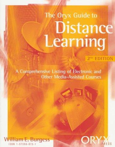 Download The Oryx guide to distance learning