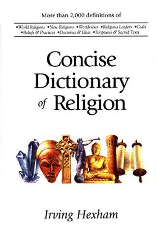 The Concise Dictionary of Religion