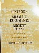 Textbook of Aramaic Documents from Ancient Egypt