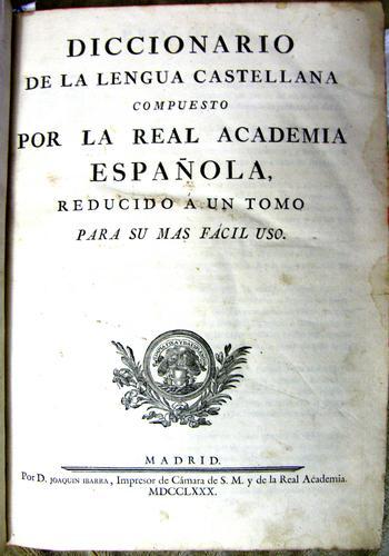 Download Diccionario de la lengua castellana