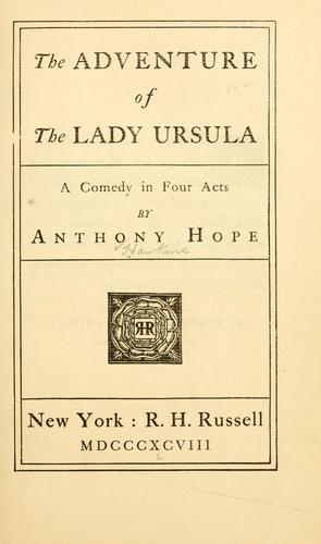 The adventure of the Lady Ursula