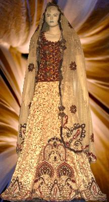 Dulhan Close Up Image