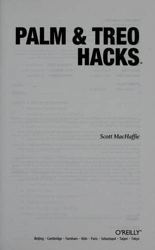 Palm & Treo hacks