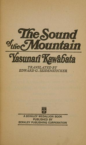 Download The sound of the mountain.